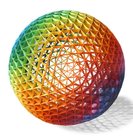 Modular Origami Ball 12 Units