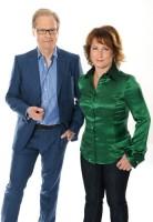 Bild: Programledarna Anna Hedenmo och Mats Knutson. Foto: Carl-Johan Söder/SVT