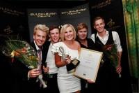 Guldklaven 2011. Elisas vann Sveriges Radio-priset och Elisa Lindström blev årets sångerska. Foto: Snezana Vucetic Bohm