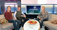 Jacob Hård, Anders Blomquist och André Pops.Foto: Carl-Johan Söder