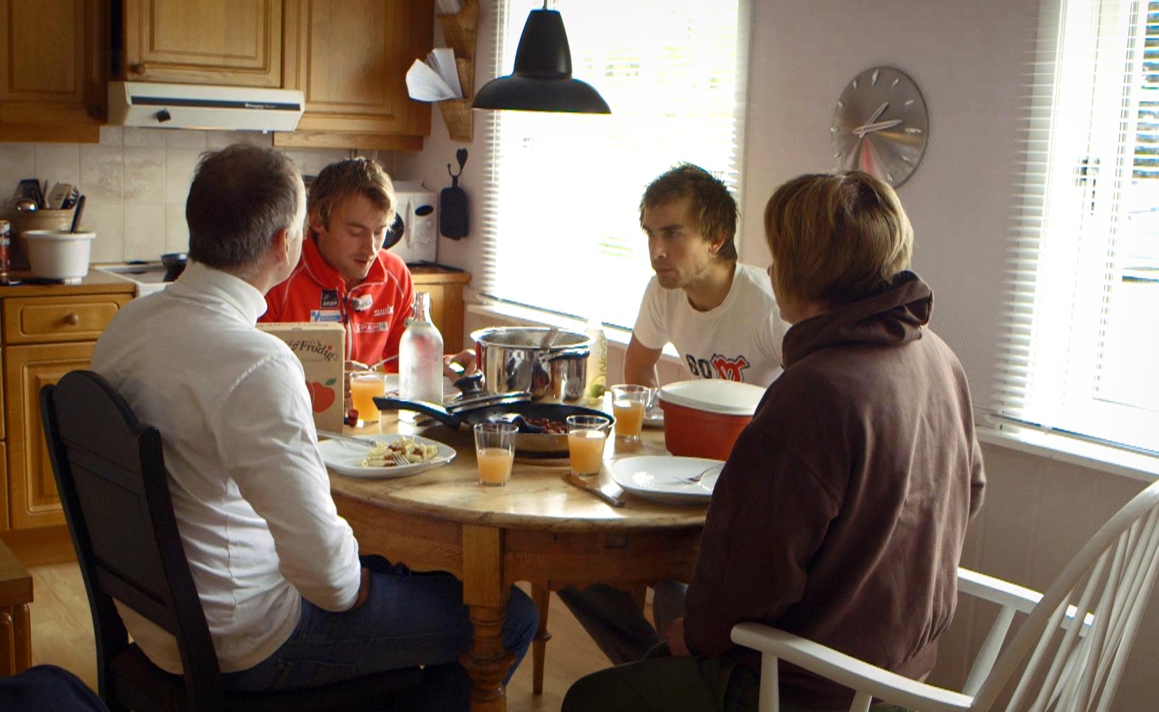 Sirkus Northug Familiemiddag Johan Olsson Petter