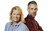 Petra Brask och Jonas Leksell leder Tidsjakten. Foto: Magnus Liam Karlsson.