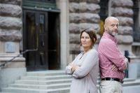 Ekots partiledarutfrågningar leds av Monica Saarinen och Lasse Johansson Foto: Björn Dalin/Sveriges Radio