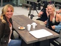 Anne Lundberg möter Malena Ernman i Sandviken