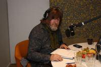 Ebbot Lundberg är rösten bakom årets julkalender. Foto: Jakob Munck