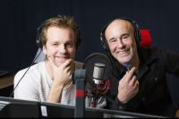 Henrik Johnsson och Mark Levengood. Foto: Mattias Ahlm/Sveriges Radio