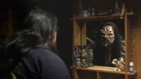 Dokumentären Monsterpojken berättar historien om en pojke som skapade en fantasivärld när han var liten och fortsätter att leva i den som medelålders man. Det är historien om Finlands hårdrocksband Lordi. Foto: SVT