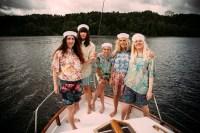 Kabyssen i P3 består av Elin Thomasdotter, Isabella Posse Boquist, Linn Mannheimer, Isabelle Riddez Hegestam och Anni Tuikka Foto: Gustav Wiking/Sveriges Radio