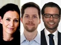 Mikael Ekelöf, Fredrik Lamotte och Sophie Wachtmeister nya chefer på TV4-säljet, Foto: TV4