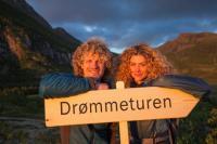 Aleksander Gamme och Cecilie Skog. Foto: Odd Arne Olderbakk/NRK