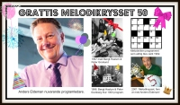 Grattis Melodikrysset 50 år. Foto: SVT Bild och Sveriges Radio.