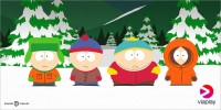 Stan, Kyle, Kenny och Cartman flyttar in på Viaplay.