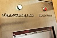 Domstolen - friad eller fälld? foto: SVT/SVT