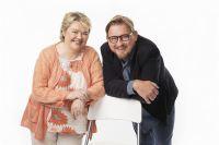 Marjaana Kytö och Fredrik Virtanen. Foto: Mattias Ahlm/Sveriges Radio