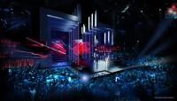 Scenskiss Eurovision Song Contest 2016. Scenografer: Frida Arvidsson och Viktor Brattström.