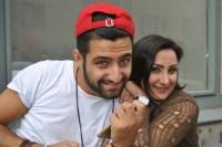 Mahmoud Bitar och Rowa Alkhatib. Foto: Helene Almqvist/Sveriges Radio