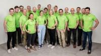 Radiosportens OS-team. Foto: Mattias Ahlm/Sveriges Radio