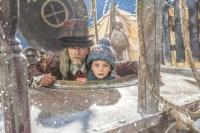 Efraim Trippelhatt (Johan Ulveson) och Selma (Ester Vuori). Foto: Ulrika Malm /SVT