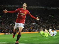 Zlatan og Manchester United møter Reading i FA-cupen lørdag. Kampen sendes på TV 2 Sport Premium. Foto: Scanpix.