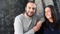 Titti Schultz och Farzad Nouri. Foto: Nichol von Schoenberg/Sveriges Radio
