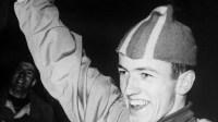 Jonny Nilsson tog VM guld i Tokyo 1963. Foto: SVT Bild