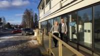Sveriges Radios och SVT:s nya lokaler i Övertorneå. Foto: Sveriges Radio.