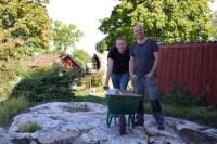 Alla bygger! Foto: TV4