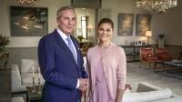 Claes Elfsberg intervjuar Kronprinsessan Victoria på Haga slott och talar om dubbelarbete och prestationsångest, om utsatthet och privilegier. Foto: SVT