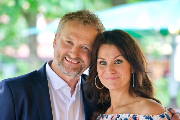 ALLSANG PÅ GRENSEN: Frithjof Wilborn er én av gjesteprogramlederne til Katrine Moholt i sommer. Foto: Håvard Solem/TV 2
