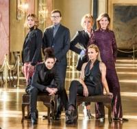 Karin Magnusson, Jessica Gedin, Gustav Källstrand, Anne Lundberg, Victoria Dyring och Cecilia Gralde. Foto: Janne Danielsson /SVT