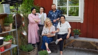 Zenia, Emma, Lisa, Jimmy och Sandra, Foto: Magnus Carlsson /SVT