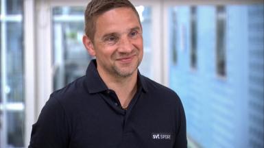 Armand Krajnc är SVT Sports nya kampsportsexpert. Foto: Per Larsson /SVT