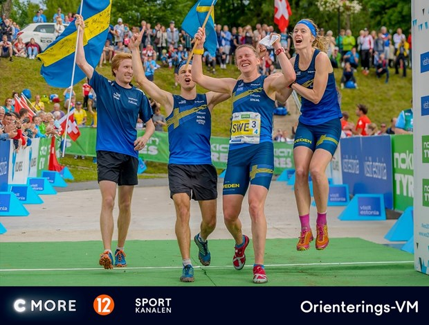 Sportkanalen och TV12 sänder orienterings-VM 2018, Foto: TV4