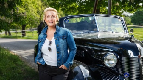 På väg med Karin Adelsköld Foto: Mattias Ahlm/Sveriges Radio