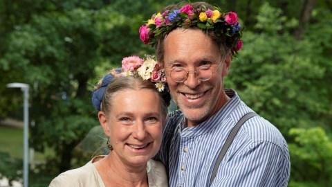 Marie och Gustav Mandelmann Foto: Mattias Ahlm/Sveriges Radio