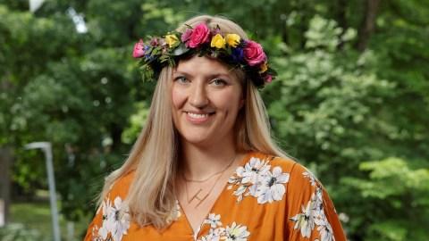 Beatrice Fihn Foto: Mattias Ahlm/Sveriges Radio