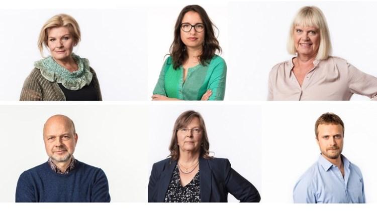 Radiokorrespondenterna talkshow sommar 2018 kollage Foto: Mattias Ahlm/Sveriges Radio