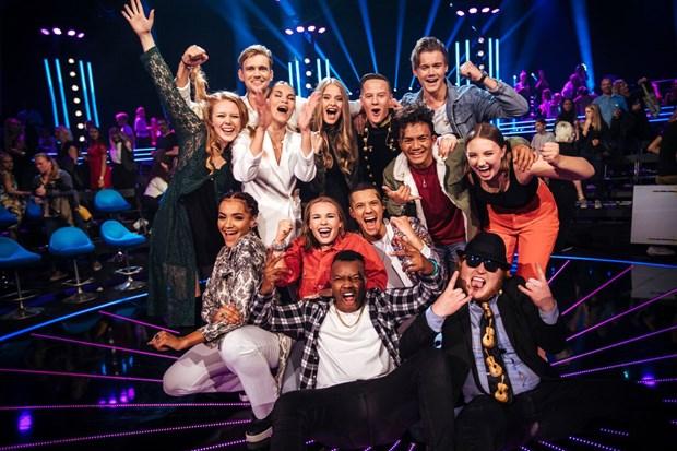 finalisterna i Idol 2018, Foto: Annika Berglund/TV4