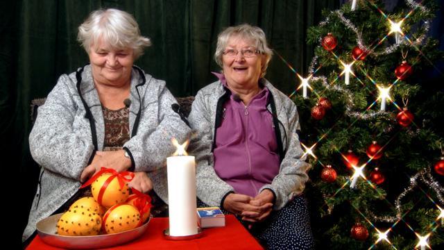 Ullared - julen är här Upphovsrätt: Kanal 5, Maritta och Gunnel