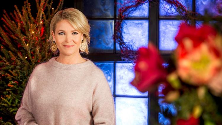 Årets julvärd: Kattis Ahlström. Foto: Janne Danielsson/SVT