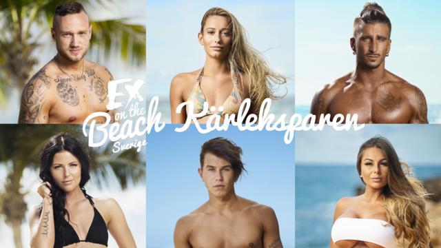Ex on the beach - Kärleksparen får premiär söndag den 16 december på Dplay. Foto: Dplay  Upphovsrätt: Dolay
