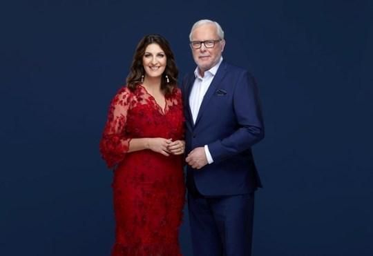 Soraya Lavasani och Bengt Magnusson, Foto: Peter Knutson/TV4