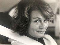 Inger kom till Sveriges Radio hösten 1966 för att arbeta som programpresentatör för tv. Foto: Magnus Egler