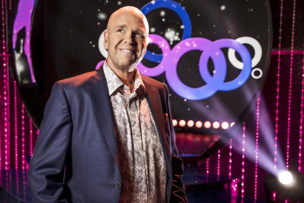 Bild: Programledare Lasse Kronér, Foto: Janne Danielsson /SVT